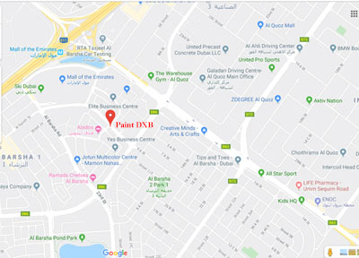 map address for paint dxb