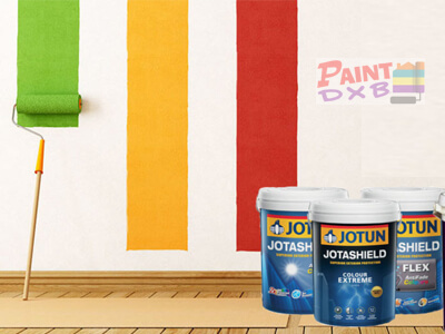 blue jotun painting services